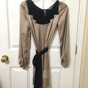 ⭐️2/$20 Forever 21 Champagne Satin Dress